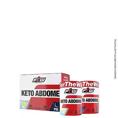 Keto Abdome AM/PM 120 cáps Emagrecedor - FTW