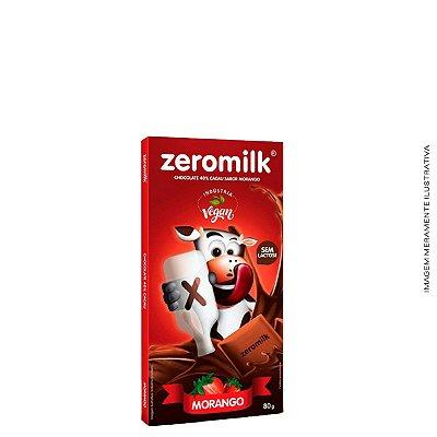 ZEROMILK MORANGO - Tablete 80g