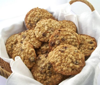 Cookies Aveia e Mel