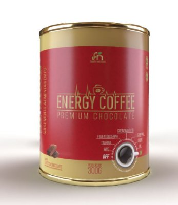 Energy Coffee com Chocolate 300g - Foods Nutrition