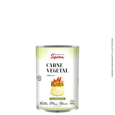 Carne Moída Vegana 400g - Superbom