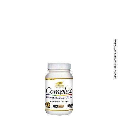 Complex A-Z 60 caps com Ômega 3 - Leader Nutrition