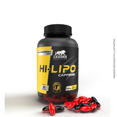 Hi - Lipo Caffeine 60 caps - Leader Nutrition