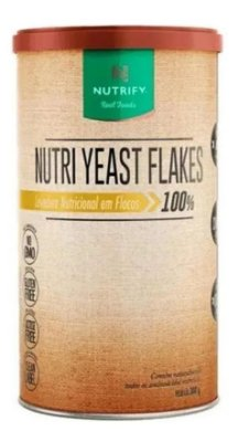 Nutri Yeast Flakes Levedura Tradicional 300g Nutrify
