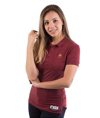 Camisa Feminina Polo Baby Look - Piquet - Manto