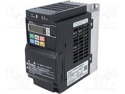 inversor 1,0cv Monofásico 220Vca 5A 0,75kW Vetorial OMRON 3G3MX2-AB007-V1
