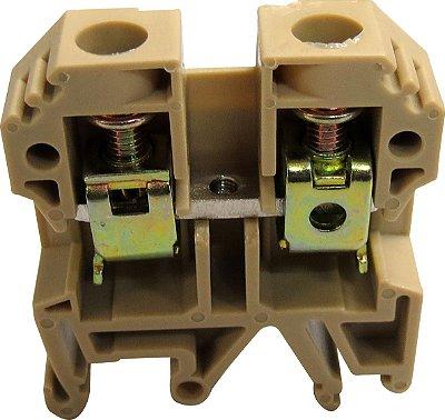 CONECTOR DE PASSAGEM 10MM P/ TRILHOS TS32 E TS35 - BEGE MTB10EN