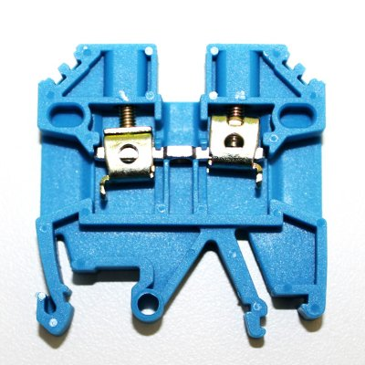 CONECTOR DE PASSAGEM 2,5MM P/ TRILHOS TS32 E TS35 - AZUL MTB2,5EN-AZ