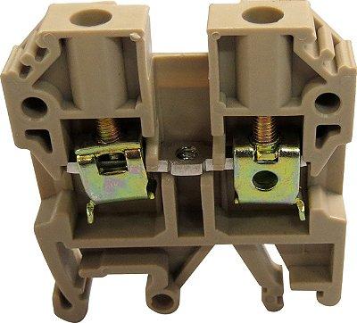 CONECTOR DE PASSAGEM 4MM P/ TRILHOS TS32 E TS35 - BEGE MTB4EN