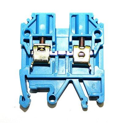 CONECTOR DE PASSAGEM 4MM P/ TRILHOS TS32 E TS35 - AZUL MTB4EN-AZ