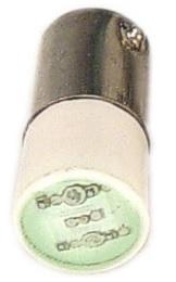 LED VERDE BA9S-12VCC/VCA L1-9-G