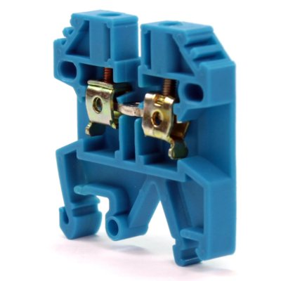 CONECTOR DE PASSAGEM 35MM P/ TRILHOS TS32 E TS35 - AZUL MTB35EN-AZ