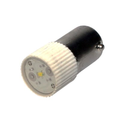 LED BRANCO BA9S - 220VCA/CC L1-2-W