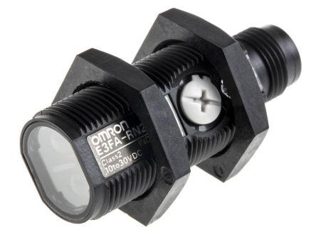sensor fotoelétrico/ DS:4m/ retroreflectivo/ NPN/ conector M12  E3FA-RN21