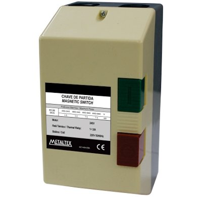CAIXA DE PARTIDA 2KW - 7 A 10A - 220V  CP12-H5-10A