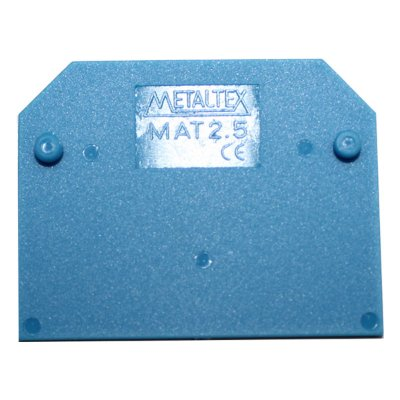 TAMPA FINAL PARA CONECTOR MTB2,5EN-AZ  MAT2,5-AZ
