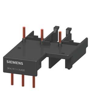 elemento de interligacao 3RA1911-1AA00, contator (CA e CC) tamanho S00 e disjuntor tamanho S00