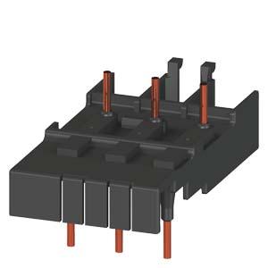 elemento de interligacao 3RA1921-1AA00, contator CA tamanho S0 e disjuntor tamanho S0