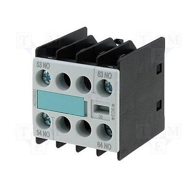 bloco de contato auxiliar, frontal, 2NA, para contator S00 3RH19111FA20