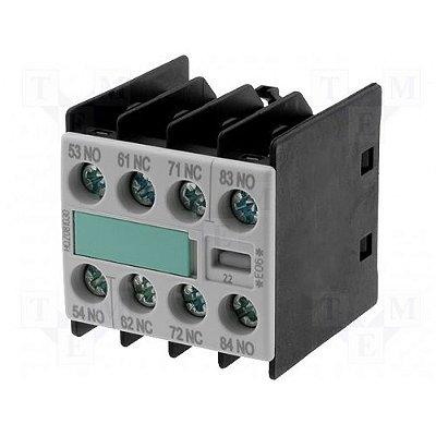 bloco de contato auxiliar, frontal, 2NA+2NF, para contator S00 3RH19111FA22