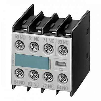 bloco de contato auxiliar, frontal, 4NA, para contator S00 3RH1911-1FA40