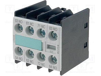 bloco de contato auxiliar, frontal, (2NA+2NF), para contator S00 3RH1911-1GA22