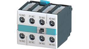 bloco de contato auxiliar, frontal, 3NA+1NF, para contator S0 - S12 3RH19211HA31