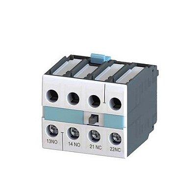 bloco de contato auxiliar, frontal, 1NA+1NF, entrada por baixo, para contator S0 - S12 3RH19211MA11