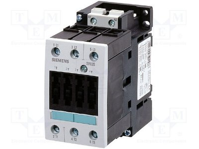 contator forca tri 32A, 24Vcc, 60Hz 3RT1034-1BB40