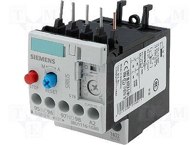 rele sobrecarga termico  3RU1116-1GB0  4,5 a 6,3A