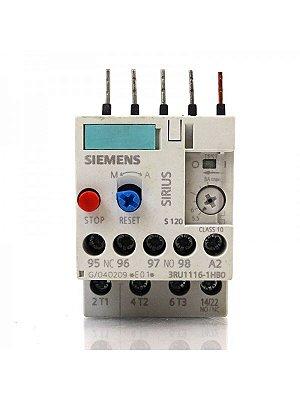 rele sobrecarga termico  3RU1116-1HB0  5,5 a 8A