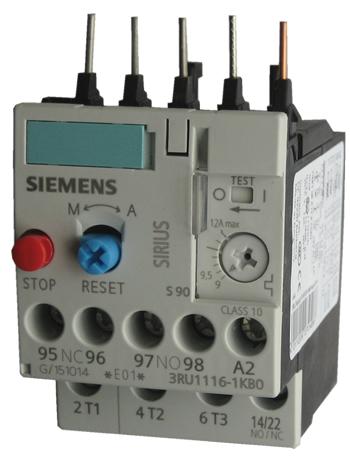rele sobrecarga termico  3RU1116-1KB0  9 a 12A