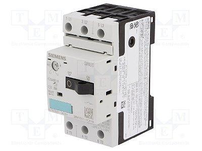 disjuntor motor, 1,8-2,5A, tamanho S00, sem bloco 3RV1011-1CA10
