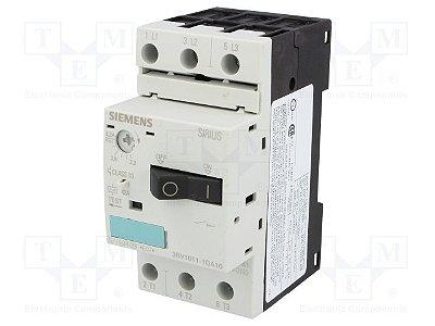 disjuntor motor, 2,2-3,2A, tamanho S00, sem bloco 3RV1011-1DA10
