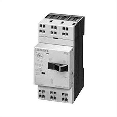 disjuntor motor, 4,5 a 6,3A, tamanho S00, sem bloco, terminais com parafuso 3RV1011-1GA10