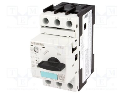 disjuntor motor 20-25A, tamanho S0 sem bloco 3RV1021-4DA10