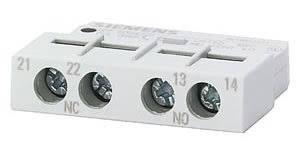 contato auxiliar frontal/1NA+1NF/S00, S0, S2, S3 3RV19011-E