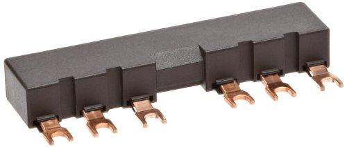 barra de interligação 3RV1915-2AB, para 2 disjuntores S00, S0,  espaçamento 55mm