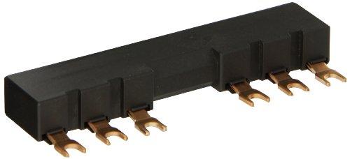 barra de interligação 3RV1915-3AB, para 2 disjuntores S00, S0,  espaçamento 63mm