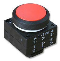 frontal botão de comando impulso  vermelho 3SB30000AA21