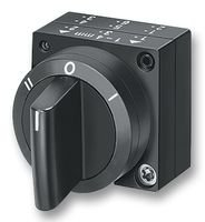 frontal comutador 3 posições c/ retenção preto 3SB30002DA11