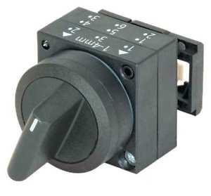 frontal comutador 3 posições pulso preto 3SB30002EA11