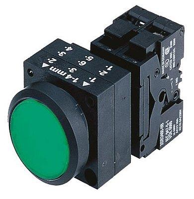 botão de comando impulso/plástico/1NA/verde 3SB3202-0AA41