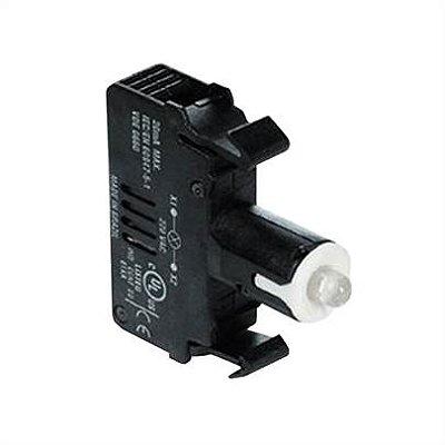 bloco  led integrado  3sb6 24V branco 3SB6403-1BA60-1AA0