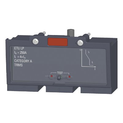 disparador sobrecorrente 3VT9225-6AB00, fixo 3VT2, 250A