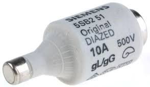 fusivel diazed retardado 5SB251  DII 10A 5SB251