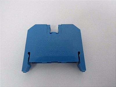 conector de passagem, 4 mm, azul, parafuso 8WA1011-1BG11