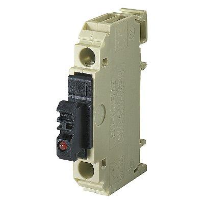 conector de passagem/1,5mm²/cinza/parafuso 8WA1011-1SF12