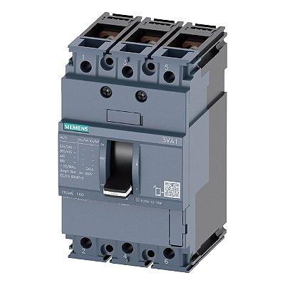 DISJ 3P 100A 55KA 380V TM240 ATAM 3VA11   3VA1110-5EF32-0AA0