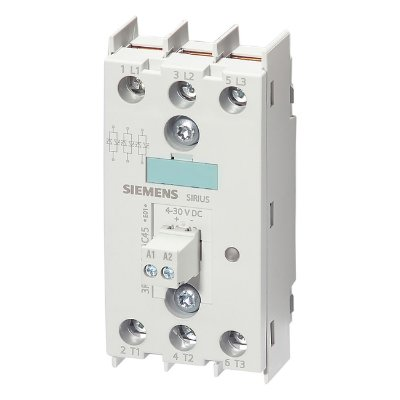 SSR 45MM 30A/TRIF/3F/48-600V/4-30VCC   3RF2230-1AC45